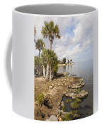 Castaway Point On The Indian River Lagoon With Coquina Rock Coffee Mug