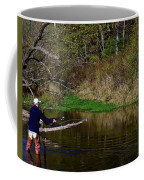 Casting For Trout Coffee Mug