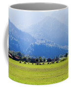 Castle And Cattle Coffee Mug