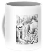 Castle And Memores Coffee Mug