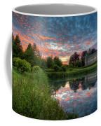 Castle And Pond Coffee Mug