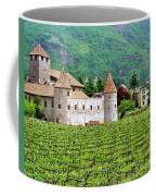Castle And Vineyard In Italy Coffee Mug
