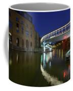 Castle Bridge A By Night Bristol England Coffee Mug