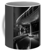Castle Bridge B By Night Bristol England Coffee Mug
