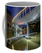 Castle Bridge C By Night Bristol England Coffee Mug