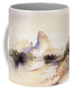 Castle Butte, Green River, Wyoming Coffee Mug