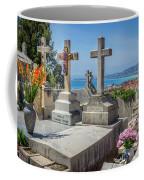 Castle Hill Graves Overlooking Nice, France Coffee Mug