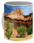 Castle Over Cottonwoods Coffee Mug