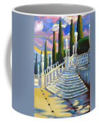 Castle Patio 1 Coffee Mug by Milagros Palmieri