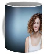 Casual Portrait Of A Cute, Authentic Girl. Coffee Mug