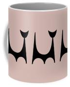 Cat 2 Trio  Coffee Mug