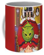 Cat - Alien Abduction Coffee Mug