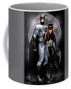 Cat And Bat Coffee Mug