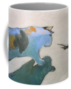 Cat And Lizard  Coffee Mug