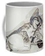 Cat And Mouse Coffee Mug