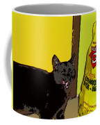 Cat And Rice Coffee Mug