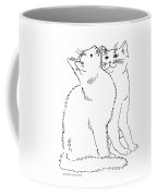 Cat-art-curious Coffee Mug