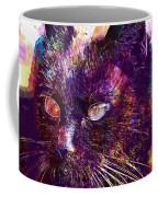 Cat Black View Close  Coffee Mug