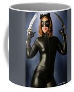 Cat Claws And Mask Coffee Mug