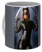 Cat Claws And Mask Coffee Mug