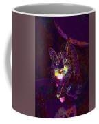 Cat Contemporary Design Brown  Coffee Mug