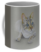 cat drawing - Jackson Coffee Mug