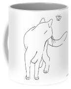 Cat-drawings-black-white-2 Coffee Mug