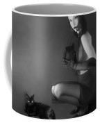 Cat Eyes - Self Portrait Coffee Mug