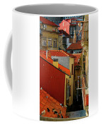 Cat Feed Coffee Mug by Skip Hunt