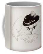 Snow White Wearing A Hat Coffee Mug