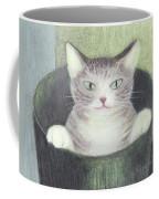 Cat In A Bucket Coffee Mug