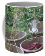 Cat In Flowerpot Coffee Mug