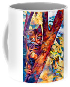 Cat In Tree Coffee Mug