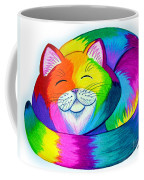 Cat Napping Coffee Mug