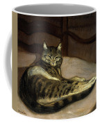 Cat On A Chair Coffee Mug