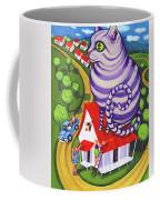 Cat On A Red Tin Roof Coffee Mug