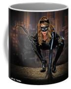 Cat On The Prowl Coffee Mug
