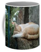 Cat On The Tree Coffee Mug