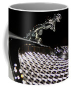 Cat Over The Grille Coffee Mug