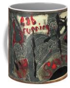 Cat Running Scared 4 Coffee Mug