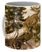 Cat Walk Coffee Mug by Priscilla Burgers