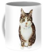 Cat Watercolor Illustration Coffee Mug