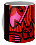 Cat Woman Coffee Mug