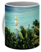 Catamaran On Tumon Bay Coffee Mug