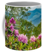 Catawba Rhododendron At The Craggy Coffee Mug