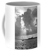 Catboat In Barnstable Harbor Coffee Mug