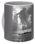 Catboat In Barnstable Harbor Coffee Mug