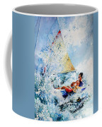Catch The Wind Coffee Mug by Hanne Lore Koehler