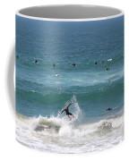 Catching Air In Huntington Beach California Coffee Mug
