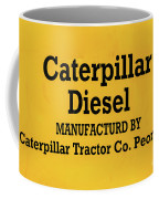 Caterpillar D2 Bulldozer 08 Coffee Mug